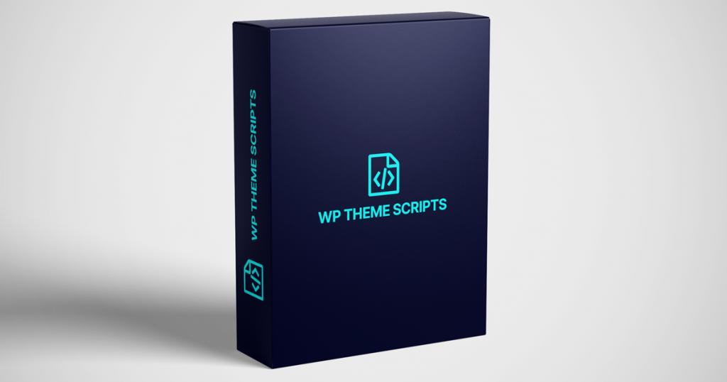 WP Theme scripts plugin